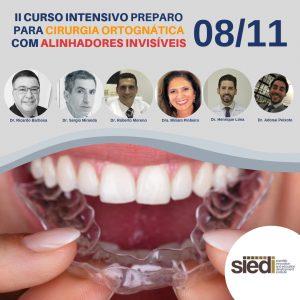 II CURSO INTENSIVO DE PREPARO PARA CIRURGIA ORTOGNÁTICA COM O USO DE ALINHADORES INVISÍVEIS – 08/11