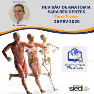 REVISÃO DE ANATOMIA PARA RESIDENTES – 29/02