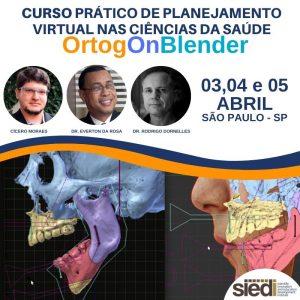 CURSO PRÁTICO DE PLANEJAMENTO VIRTUAL DE CIRURGIA ORTOGNÁTICA – 03,04,05 – ABRIL