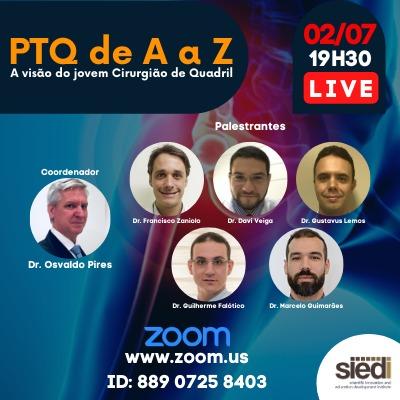 PTQ de A a Z - A visão do Jovem Cirurgião de Quadril.